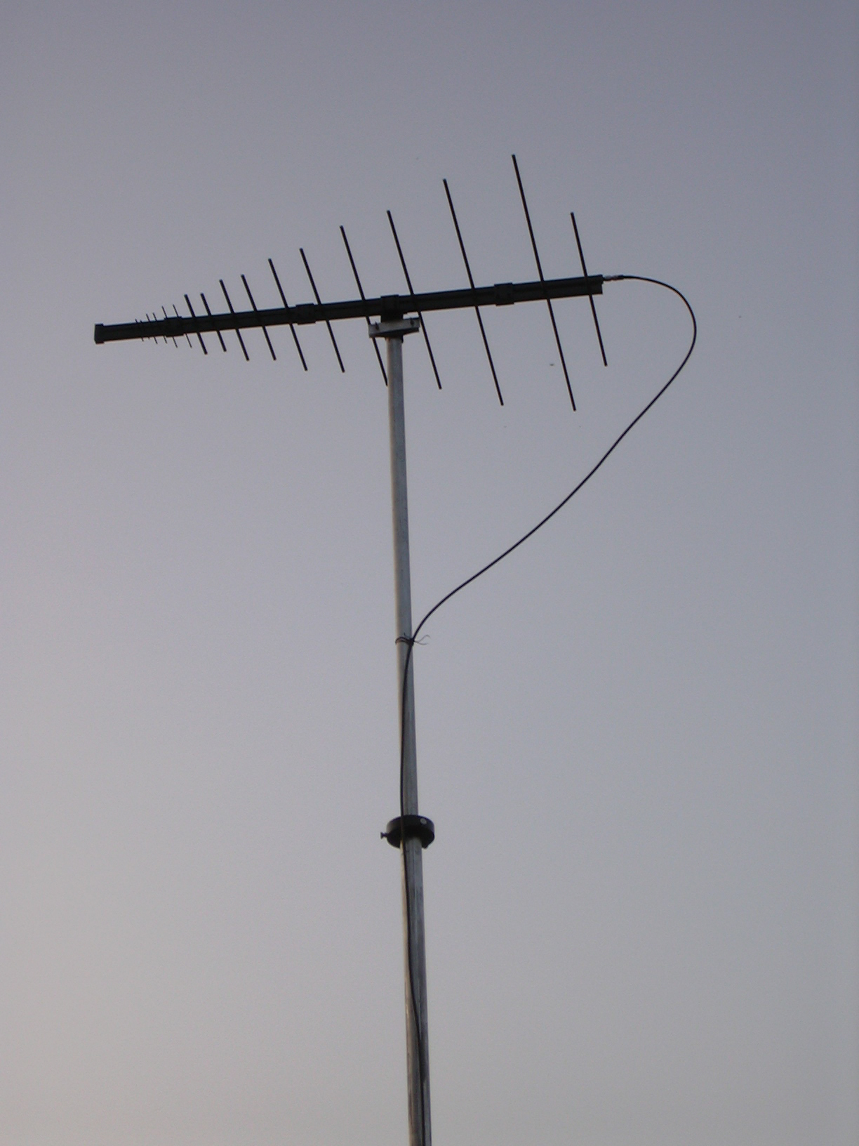 Log Periodic Dipole Antenna 20 - 100MHZ